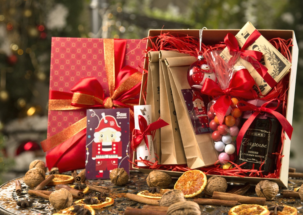 Новогодние подарки тюмень оптом